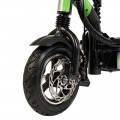 Electric motorcycle-type white scooter, with folding structure and 800W engine