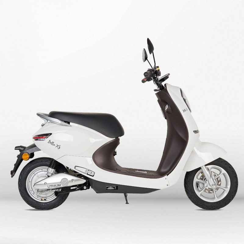 Scooter eléctrico 1200W matriculable blanco